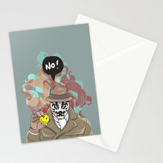 NO! Rorschach Stationery Cards