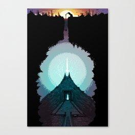 The Power Below Canvas Print
