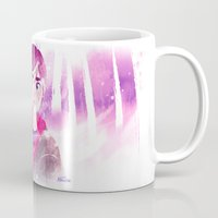 ellie goulding Mugs featuring Ellie by LadyAlouette