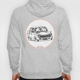 Crazy Car Art 0223 Hoody