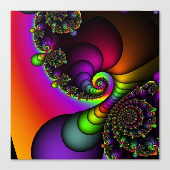 Rainbow Goddess Canvas Print
