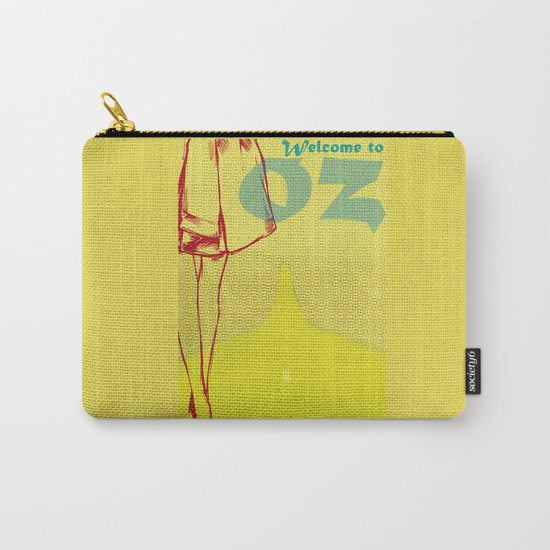 Welcome to Oz Carry-All Pouch