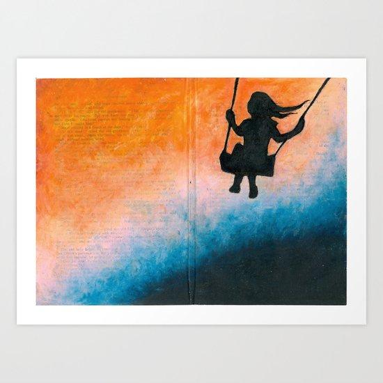 Swing Me Away Art Print