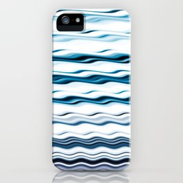 Waves to relax by iPhone Case