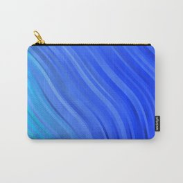 stripes wave pattern 1 c80v Carry-All Pouch