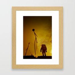 Close encounter (of the Third Kind) Framed Art Print