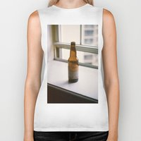 beer Biker Tanks featuring Beer by Photos by Madison