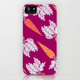 Carrots III iPhone Case