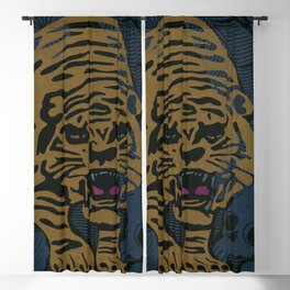Golden Tiger Blackout Curtain