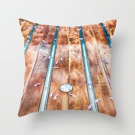 Truck Bed Throw Pillow