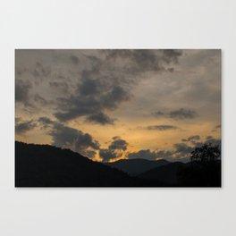 Calming Mountains II Canvas Print