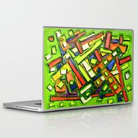 oakland Laptop & iPad Skins featuring Uptown Oakland by Octavious Sage