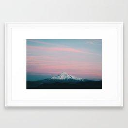 Mount Hood III Framed Art Print