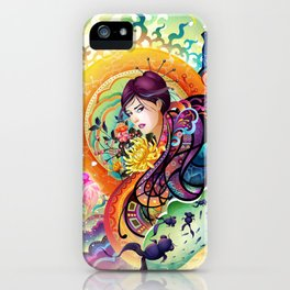 Trance iPhone Case