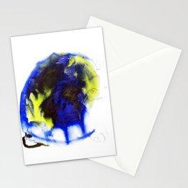 "Fantastic animals ""Blue Turtle"" Stationery Cards"