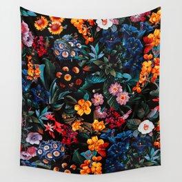 Midnight Garden XVI Wall Tapestry