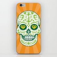 calavera iPhone & iPod Skins featuring Calavera by courtney2k ⚓ design™