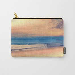 Approaching Sunset Abstract Seascape Carry-All Pouch