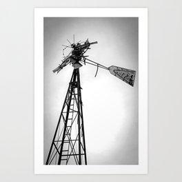 Twisted Windmill II Art Print