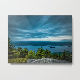 View from the top of a mountain Metal Print