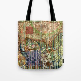 Driving Out Miss Martineau (1) Tote Bag
