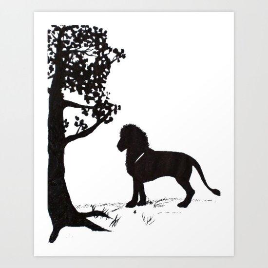 genus Panthera Art Print