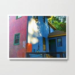 Color Blocked Architecture Metal Print