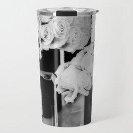 CHANELNo. 5 Black and White Travel Mug