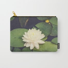 Peaceful Water Lily Carry-All Pouch
