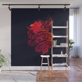 An Ephemeral Day In The Universe v2 by #Bizzartino Wall Mural