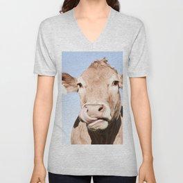 Holy cow Unisex V-Neck