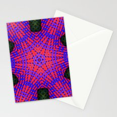 Abstract X One Stationery Cards