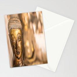 Wat Si Saket Buddhas X, Vientiane, Laos Stationery Cards
