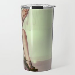 """""""Life is what happens when..."""" Travel Mug"""