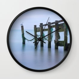 Turquoise Hour Wall Clock