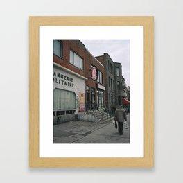 Boulangerie Napolitaine / Playhouse Cabaret Framed Art Print