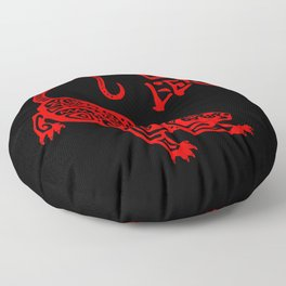 The Year of The Rat Floor Pillow