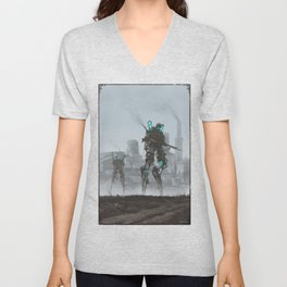 1920 - dark infantry Unisex V-Neck