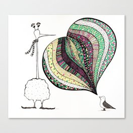 too tall Canvas Print