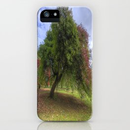 Waiting for Fall iPhone Case