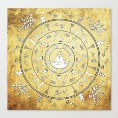 Journey Mandala Canvas Print