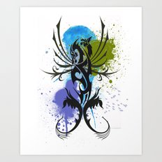 Tattoo Art Print
