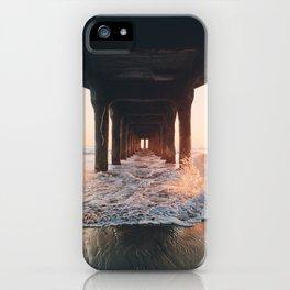 Pier Sunset iPhone Case