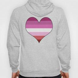 Lesbian Heart Hoody