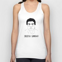 childish gambino Tank Tops featuring Childish Gambino by ☿ cactei ☿