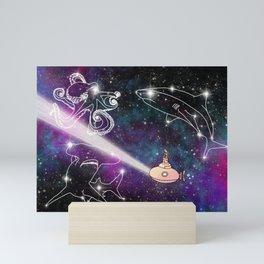 Exploring The Star Fish Constellations Mini Art Print