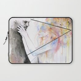 two different lights Laptop Sleeve