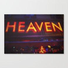 Heaven in Color Canvas Print