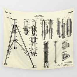 Camera Stand or Tripod-1942 Wall Tapestry