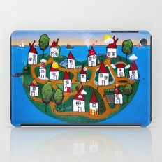 Dream House Island iPad Case